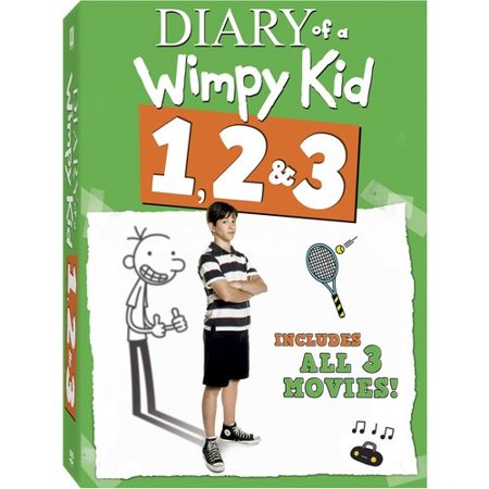 Diary Of A Wimpy Kid / Diary Of A Wimpy Kid 2: Rodrick Rules / Diary Of A Wimpy Kid: Dog Days (Widescreen)