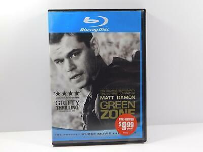 dvd movie GREEN ZONE (Blu-ray Disc, 2010) - Matt Damon