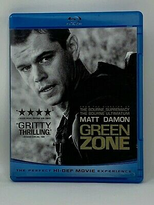 Green Zone (2010) Blu-Ray Buy 5 Get 1 Free! Pay $3 Shipping Once!