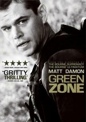 Green Zone (DVD, 2010, Widescreen) NEW