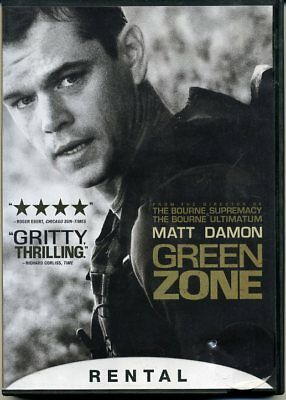 GREEN ZONE DVD MOVIE GREENZONE Matt Damon, Greg Kinnear, Brendan Gleeson 2010