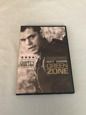 Green Zone Matt Damon 2010 DVD Movie
