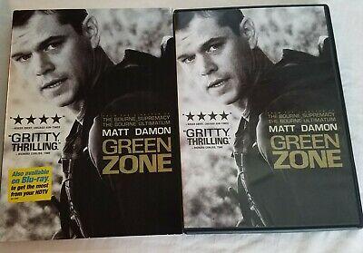 Green Zone Movie (DVD, 2012) Matt Damon