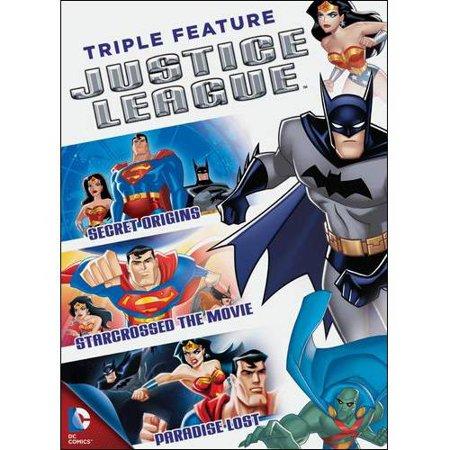 Justice League Triple Feature: Secret Origins / Starcrossed The Movie / Paradise Lost (Full Frame)