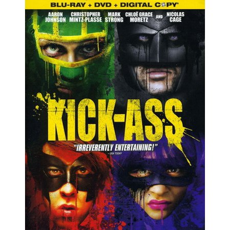 Kick-Ass (Blu-ray + DVD + Digital Copy)