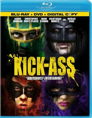 Kick-Ass (Three-Disc Blu-ray/DVD Combo + Blu-ray