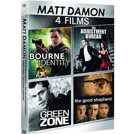 Matt Damon: 4-Film Spotlight Series - The Adjustment Bureau / The Bourne Identity / The Good Shepherd / Green Zone (Anamorphic Widescreen)