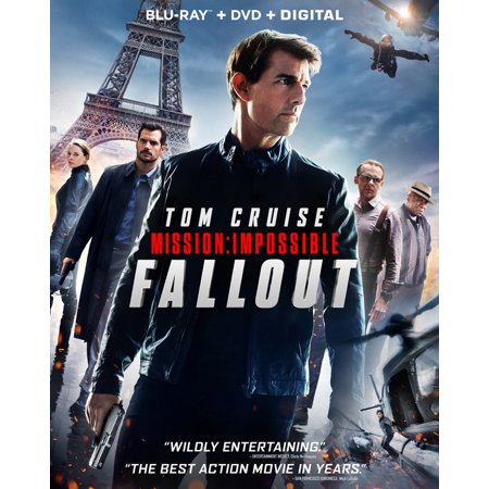 Mission: Impossible: Fallout (Blu-ray + DVD + Digital Copy)
