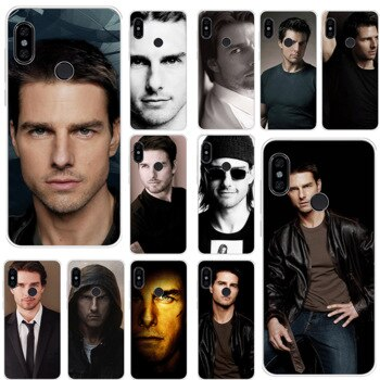 Mobile Phone Case For Xiaomi Redmi K20 Pro 7 GO S2 7A 4A 4X 5 5A 6 6A Cover Tom Cruise