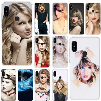 Mobile Phone Case For Xiaomi Redmi Note 8 6 7 5 Pro Xiaomi 4 4X 5A Cover Taylor Alison Swift TPU Shell