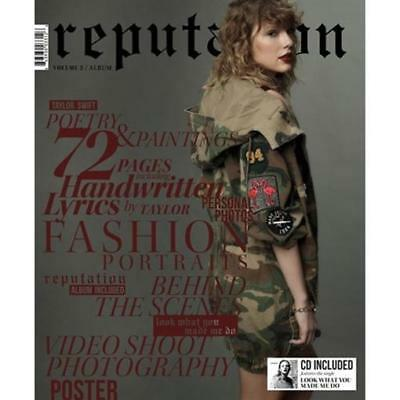reputation by Taylor Swift Volume 2 (CD/Magazine Jun-2018) Target Exclusive NEW