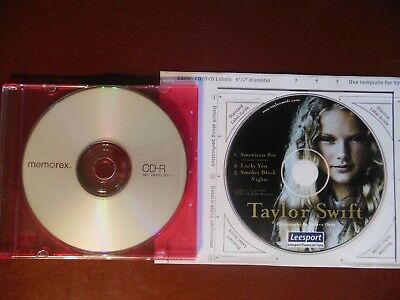 Taylor Swift promo CD 2004