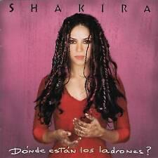 Shakira : Donde Estan los Ladrones Pop 1 Disc CD
